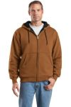 SanMar CornerStone CS620 CornerStone® - Heavyweight Full-Zip Hooded Sweatshirt with Thermal Lining.