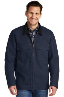 SanMar CornerStone CSJ50, CornerStone® Washed Duck Cloth Chore Coat.