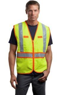 SanMar CornerStone CSV407, CornerStone® - ANSI 107 Class 2 Dual-Color Safety Vest.