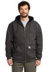 SanMar Carhartt CT100632, Carhartt ® Rain Defender ® Rutland Thermal-Lined Hooded Zip-Front Sweatshirt.