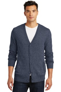 SanMar District Made DM315, District Made® - Mens Cardigan Sweater.