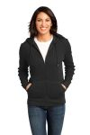 SanMar District Made DM430 District Made - Ladies Heavyweight Thermal Full-Zip Hoodie.