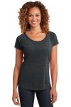 SanMar District Made DM443 District Made Ladies Tri-Blend Scoop Tee.