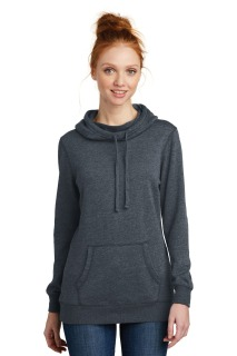 SanMar District DM493, District ® Womens Lightweight Fleece Hoodie.