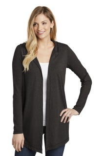 SanMar District DT156, District ® Womens Perfect Tri ® Hooded Cardigan.