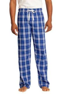 SanMar District DT1800, District® - Young Mens Flannel Plaid Pant.