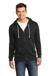 SanMar District DT190, District® - Young Mens Core Fleece Full-Zip Hoodie