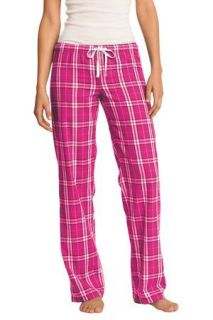 SanMar District DT2800, District® Womens Flannel Plaid Pant.