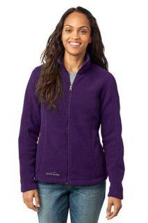 SanMar Eddie Bauer EB201, Eddie Bauer® - Ladies Full-Zip Fleece Jacket.