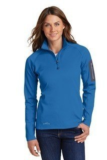 SanMar Eddie Bauer EB235, Eddie Bauer® Ladies 1/2-Zip Performance Fleece.