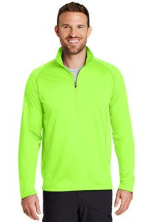 SanMar Eddie Bauer EB236, Eddie Bauer® Smooth Fleece Base Layer 1/2-Zip.