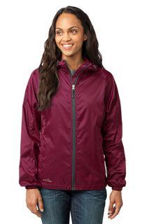 SanMar Eddie Bauer EB501, Eddie Bauer® - Ladies Packable Wind Jacket.
