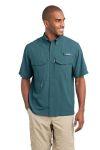 SanMar Eddie Bauer EB602, Eddie Bauer® - Short Sleeve Performance Fishing Shirt.