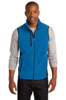 SanMar Port Authority F228, Port Authority® R-Tek® Pro Fleece Full-Zip Vest.