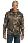 SanMar Port Authority F245 CLOSEOUT Port Authority® Mossy Oak® Sport-Wick® Hooded Sweatshirt.