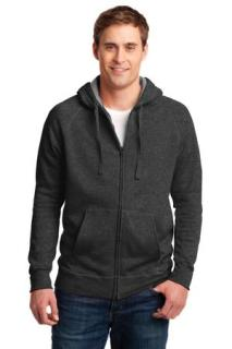 SanMar Hanes HN280, Hanes® Nano Full-Zip Hooded Sweatshirt.