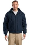 SanMar CornerStone J763H CornerStone® - Duck Cloth Hooded Work Jacket.