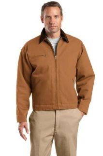 SanMar CornerStone J763, CornerStone® - Duck Cloth Work Jacket.