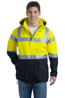 SanMar Port Authority J799S, Port Authority® ANSI 107 Class 3 Safety Heavyweight Parka.