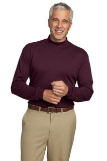 SanMar Port Authority K321, Port Authority® Interlock Knit Mock Turtleneck.