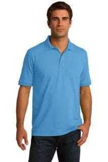 SanMar Port & Company KP55T, Port & Company® Tall Core Blend Jersey Knit Polo.