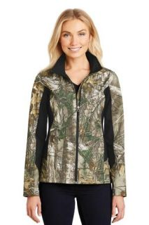 SanMar Port Authority L318C, Port Authority® Ladies Camouflage Colorblock Soft Shell.