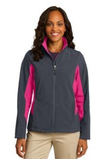 SanMar Port Authority L318, Port Authority® Ladies Core Colorblock Soft Shell Jacket.