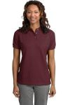 SanMar Port Authority L420, Port Authority® Ladies Heavyweight Cotton Pique Polo.
