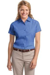 SanMar Port Authority L508, Port Authority® Ladies Short Sleeve Easy Care  Shirt.