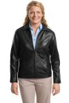 SanMar Port Authority L785, Port Authority® Ladies Park Avenue Lambskin Jacket.