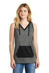 SanMar New Era LNEA106, New Era ® Ladies Heritage Blend Hoodie Tank.