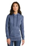 SanMar New Era LNEA500, New Era ® Ladies French Terry Pullover Hoodie.