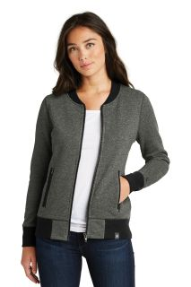 SanMar New Era LNEA503, New Era ® Ladies French Terry Baseball Full-Zip.