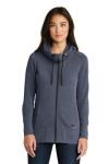 SanMar New Era LNEA511, New Era ® Ladies Tri-Blend Fleece Full-Zip Hoodie.