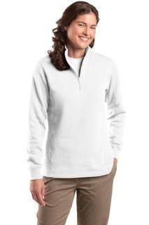 SanMar Sport-Tek LST253, Sport-Tek® Ladies 1/4-Zip Sweatshirt.