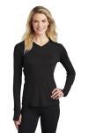 SanMar Sport-Tek LST358, Sport-Tek ® Ladies PosiCharge ® Competitor  Hooded Pullover.