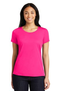 SanMar Sport-Tek LST450, Sport-Tek® Ladies PosiCharge® Competitor Cotton Touch Scoop Neck Tee.