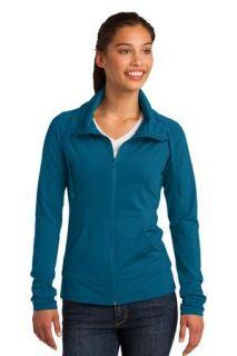 SanMar Sport-Tek LST852, Sport-Tek® Ladies Sport-Wick® Stretch Full-Zip Jacket.