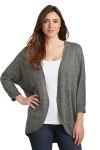 SanMar Port Authority LSW416, Port Authority ® Ladies Marled Cocoon Sweater.