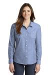 SanMar Port Authority LW380, Port Authority® Ladies Slub Chambray Shirt.