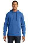SanMar New Era NEA510, New Era ® Tri-Blend Fleece Pullover Hoodie.