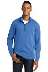 SanMar New Era NEA512, New Era ® Tri-Blend Fleece 1/4-Zip Pullover.