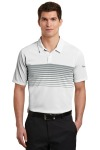 SanMar Nike NKAA1855, Nike Dri-FIT Chest Stripe Polo.