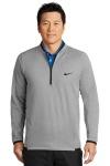 SanMar Nike NKAH6267, Nike Therma-FIT Textured Fleece 1/2-Zip.
