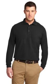 SanMar Port Authority K500LS, Port Authority® Long Sleeve Silk Touch Polo.