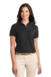 SanMar Port Authority L500, Port Authority® Ladies Silk Touch Polo.