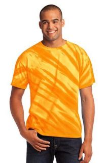 SanMar Port & Company PC148 Port & Company® - Essential Tiger Stripe Tie-Dye Tee.