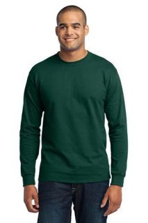 SanMar Port & Company PC55LS, Port & Company® - Long Sleeve Core Blend Tee.