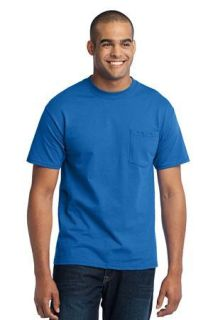 SanMar Port & Company PC55P, Port & Company® - Core Blend Pocket Tee.
