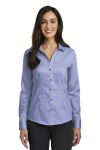 SanMar Red House RH250, Red House®  Ladies Pinpoint Oxford Non-Iron Shirt.